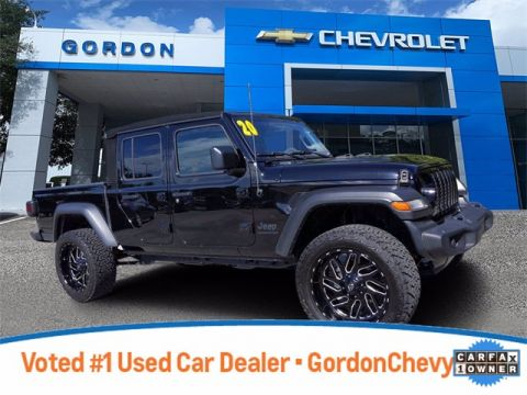 Pre-Owned 2020 Jeep Gladiator Sport 4WD 4D Crew Cab