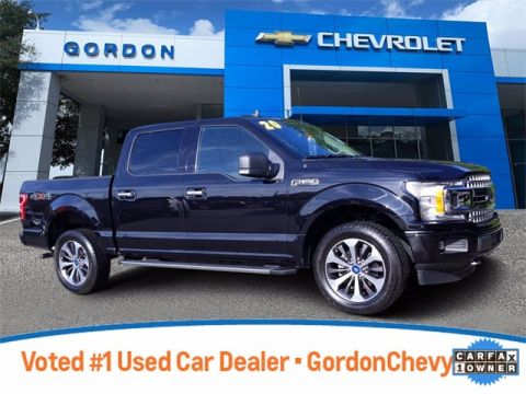 Pre-Owned 2020 Ford F-150 XLT 4WD 4D SuperCrew
