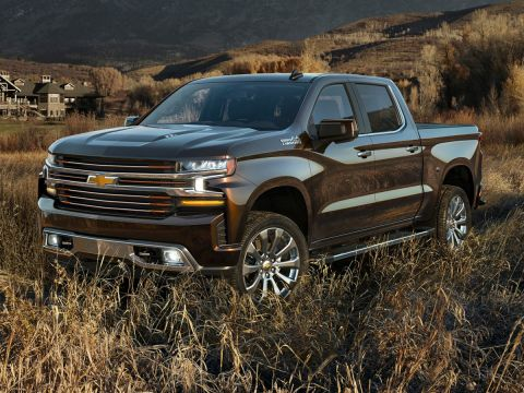 Pre-Owned 2020 Chevrolet Silverado 1500 LT 4WD 4D Double Cab