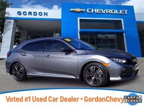 Pre-Owned 2017 Honda Civic EX FWD 4D Hatchback